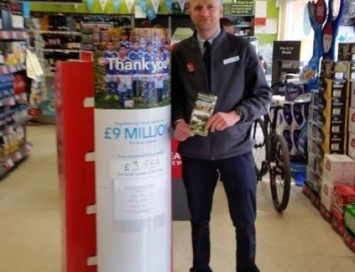 Thank you to the Coop Sandiacre