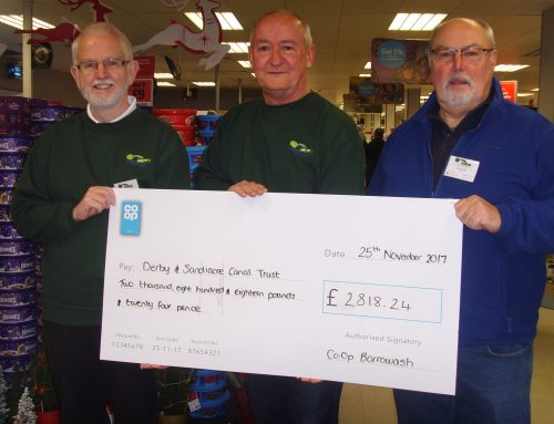 Co-Op Borrowash Local Community Funding presented to the D&SC Trust