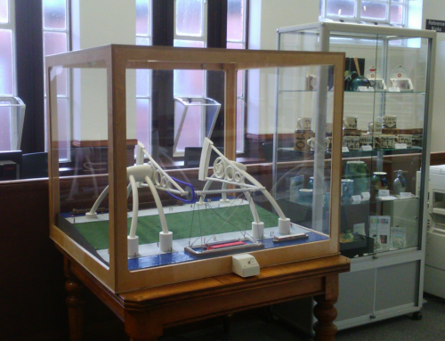 Derby Arm Boat Lift Model – Now on display at Derby's Local Studies Library