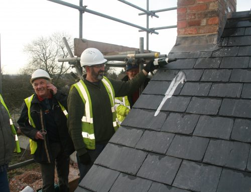 Topping Out Ceremony at Draycott