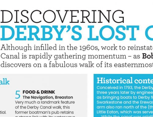 Walking the Derby Canal – Waterways World